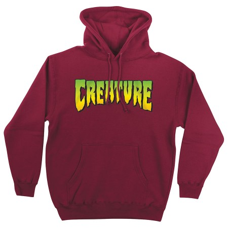 Creature Logo XL Hood  Currant