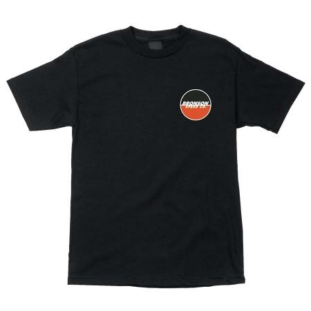 Bronson Logo S/S Regular T-Shirt Black L