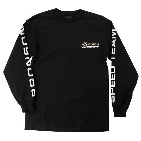 Bronson Speed Team L/S Regular T-Shirt Black L