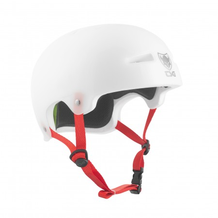 TSG Helmet  evolution clear white S/M