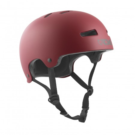TSG Helmet  evolution  satin oxblood S/M