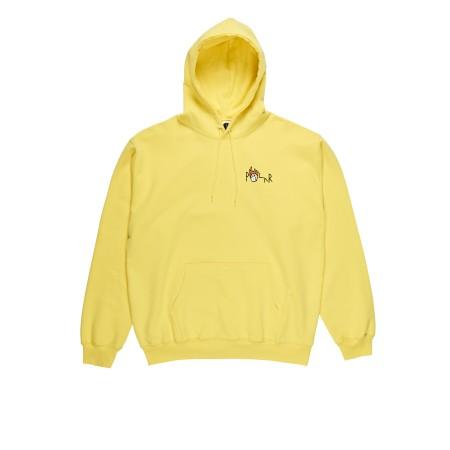 Polar Castle XL Fill Hoodie Yellow