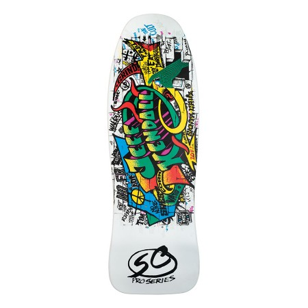Santa Cruz Wood Kendall Graffiti Reissue 9.69in