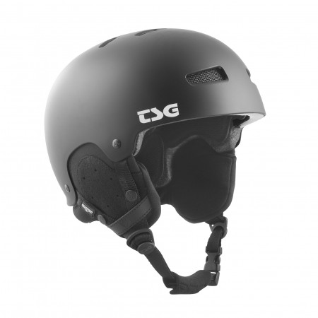 TSG helmet gravity black L/XL
