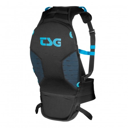 TSG backbone vest junior black JXXS