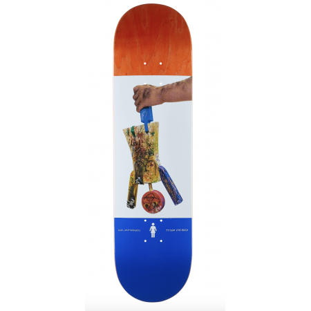 Girl Wood 8.25  PACHECO  ONE OFF DECK
