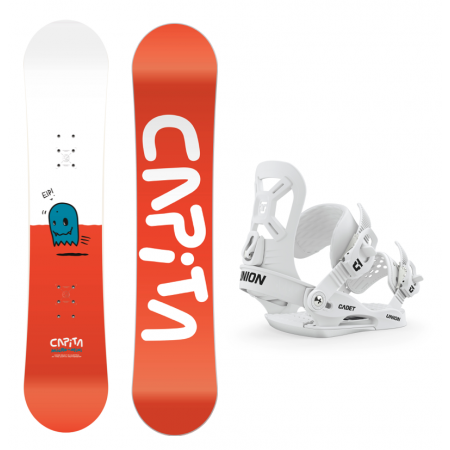 CAPITA 105  MICRO SNOWBOARD  PAKKE + UNION BINDING