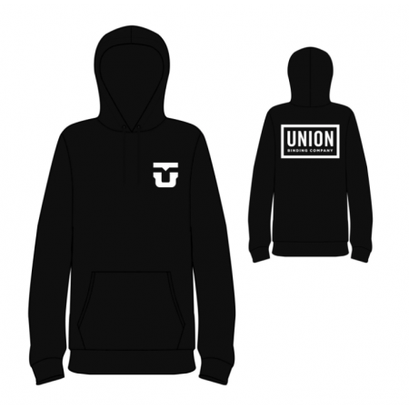 Union Team Hoodie XL Black