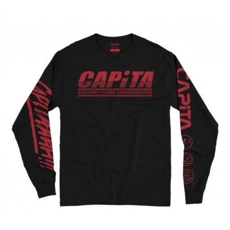 CAPITA  LONG SLEEVE XL FACTORY - BLACK