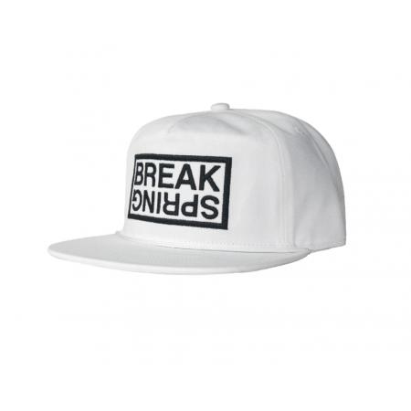 SPRING BREAK  CAP  SLUSH 3 PK WHITE