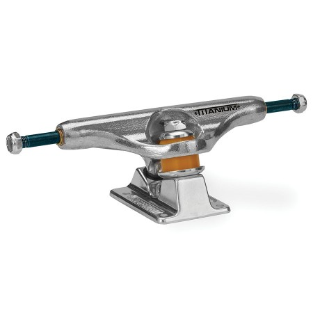 Independent Trucks 144  Titanium  Silver