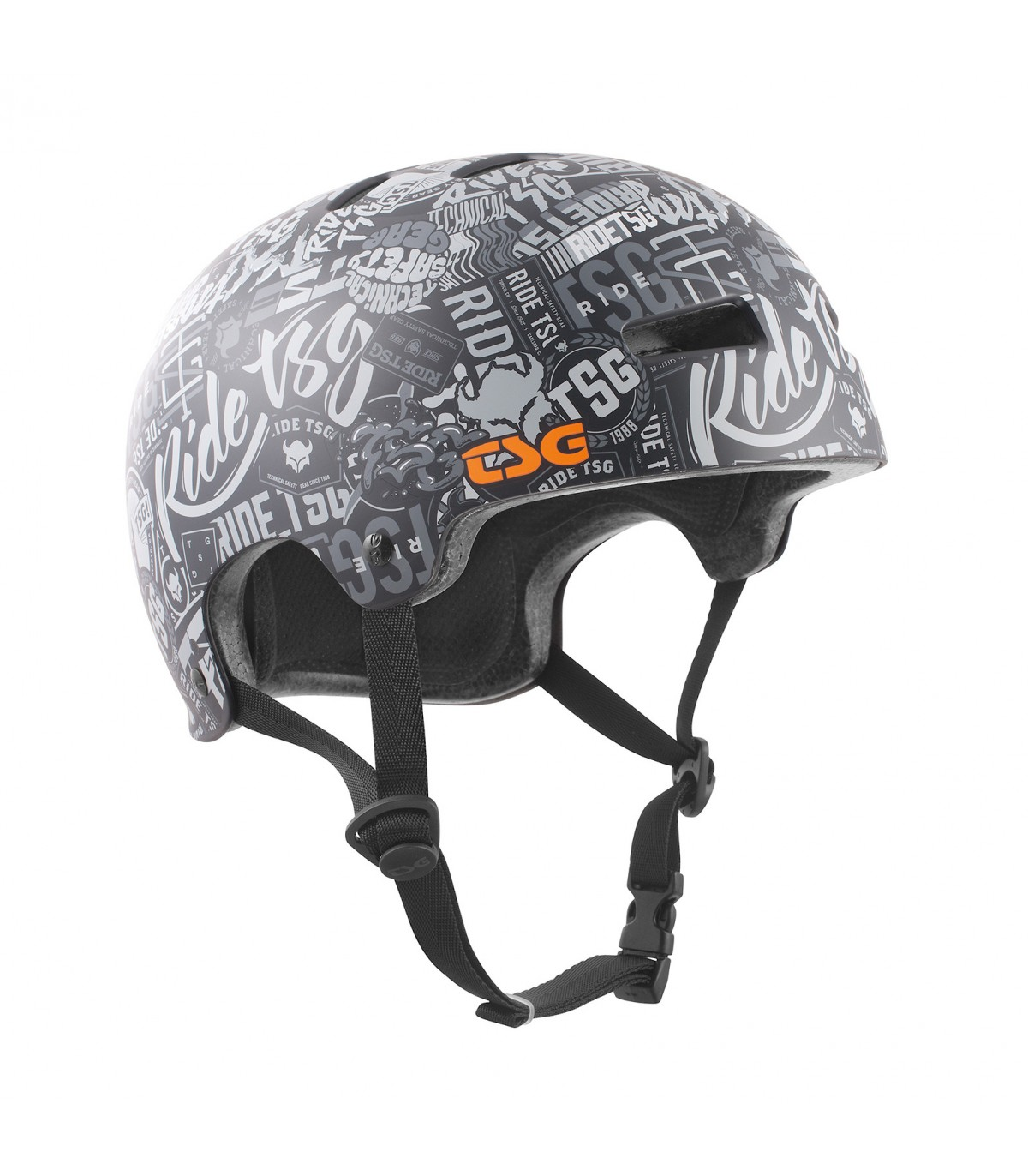 Tsg helmet l xl gravity graphic stickerbomb
