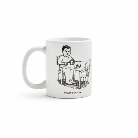 Polar SS20 Spilled Milk Mug - White - O/S