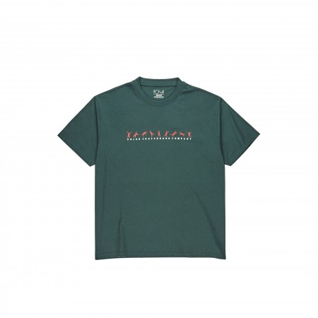 Polar SS20 Cartwheel Tee - Grey Teal - XS