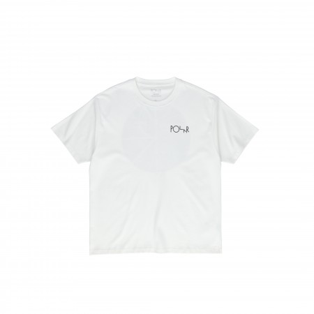 Polar SS20 Klez Fill Logo Tee - White - M