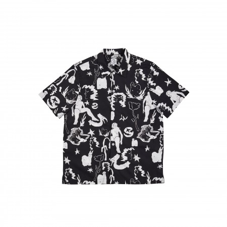 Polar SS20 East Dream Shirt - Black/White - XL