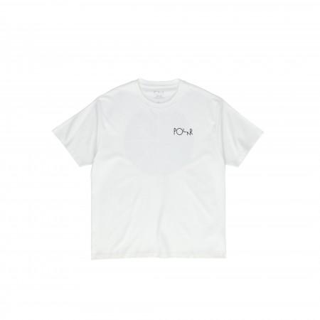 Polar SS20 Klez Fill Logo Tee - White - XS
