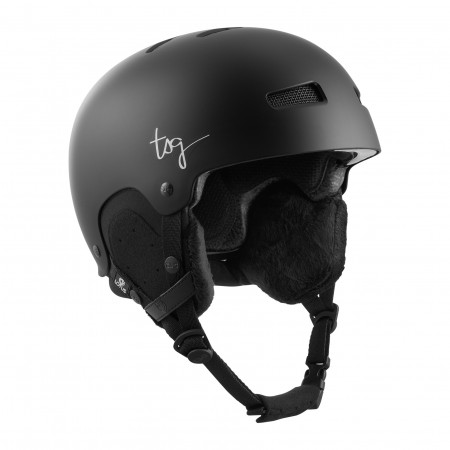 TSG Helmet S/M  Winter Womens Lotus Satin Black (cm 54-56)