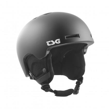 TSG Helmet L/XL Winter Vertice Satin Black