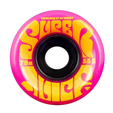 OJ Wheels 55mm Juice Pink 78a