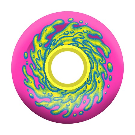 Slime Balls Wheels 66mm   Pink Yellow  78a