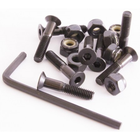 Sushi Bolts Allen Bolts (pack of 8) Black 1 IN