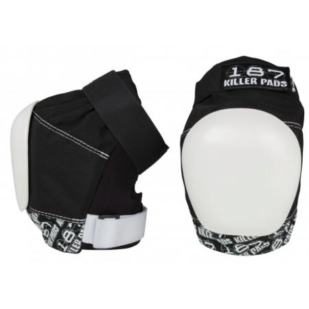 187 Killer Pads Pro Knee Black/White M