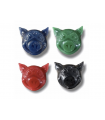 PG NEW PIG HEAD WAX RED