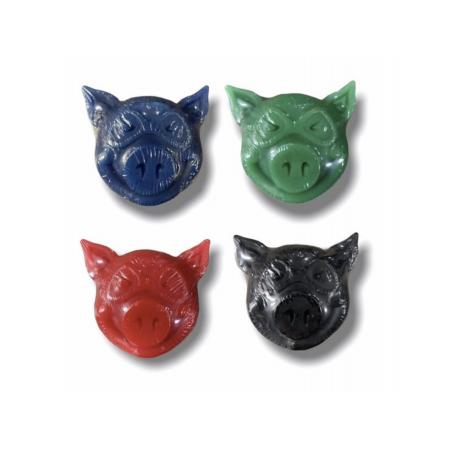 PG NEW PIG HEAD WAX GREEN