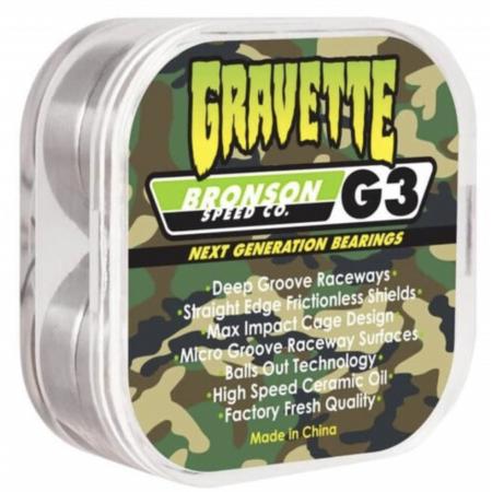 David Gravette Pro Bearing G3 Bronson 10 pk