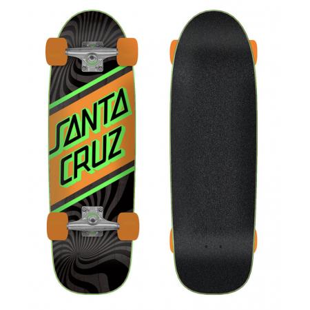 Street Skate 8.79in x 29.05in Cruzer Santa Cruz