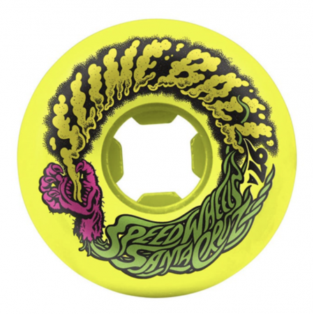 Wheels 54mm  Vomit Yellow   97a Slime Balls