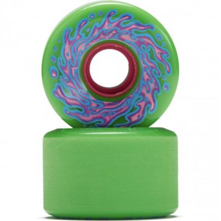 Wheels 60mm  OG Slime Black Green  78a Slime Balls