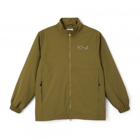 POL-SP21 - COACH JACKET GREEN BROWN M