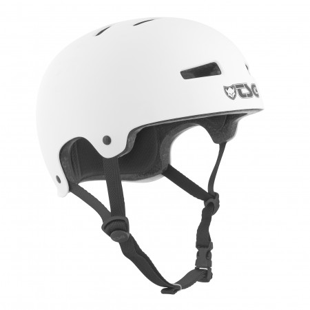 TSG Helmet evolution satin white S/M