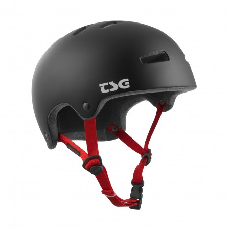 TSG helmet S/M superlight solid satin black