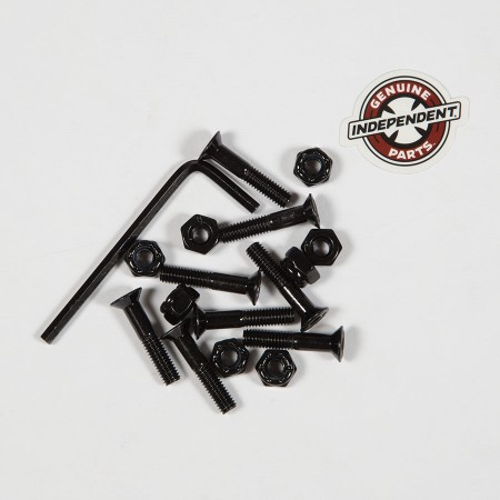 "Independent Hardware 1.25"" 12 Pk  Black"