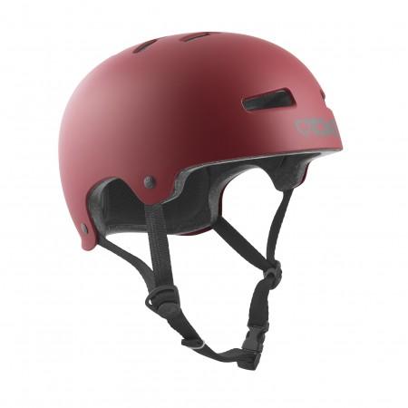 TSG Helmet evolution  satin oxblood L/XL