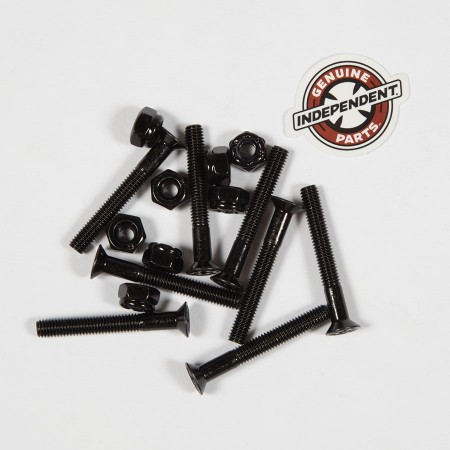 "Independent  Hardware 12 pk  1"" Black"